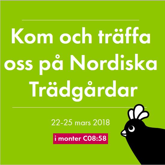 95e04656627 Den 22-25 mars hittar du Omlet, tillsammans med nästan 400 andra  utställare, på Nordiska Trädgårdar på Stockholmsmässan. Mässan är öppet  9-18 alla dagar, ...